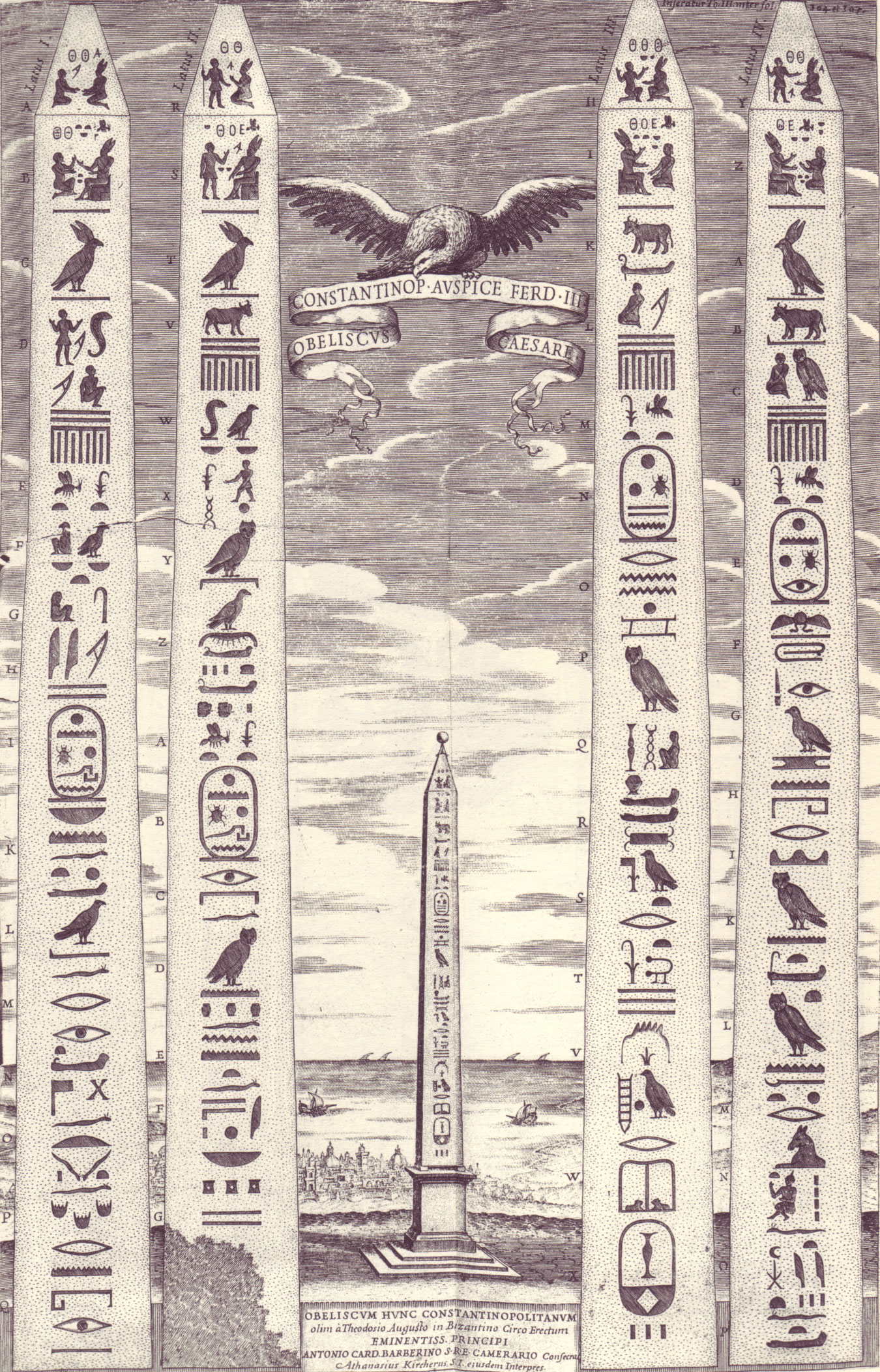 So why did kircher ignore the voynich manuscript medieval musings kirchers obelisk from oedipus aegyptiacus fandeluxe Choice Image