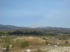 Fire in Cabrera