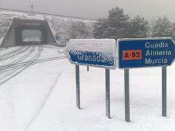 snow in granada snow in almeria