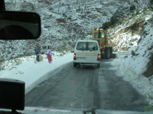 snow in almeria albox