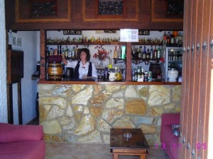 bar inside welcome stranger restaurant limaria arboleas albox