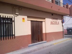 cafe tapa bar aguila albox almeria