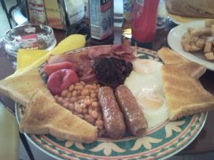 D bar almerimar english breakfast
