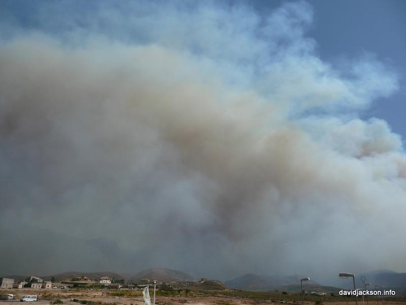 smoke over turre