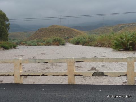 floods in cabrera turre mojacar