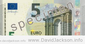 New 5€ note in circulation