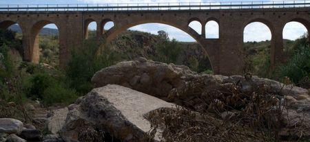 Puente Vaquero Turre bridge