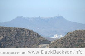 Road to Carboneras - we were higher!