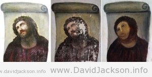 Ecce homo - before, then and after