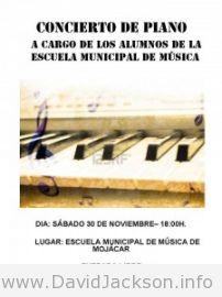 Mojacar piano recital.