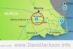 Corvera, Murcia-San Javier and Alicante.