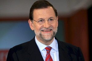 Rajoy in happier days