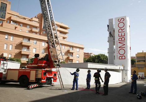 bomberos firemen almeria