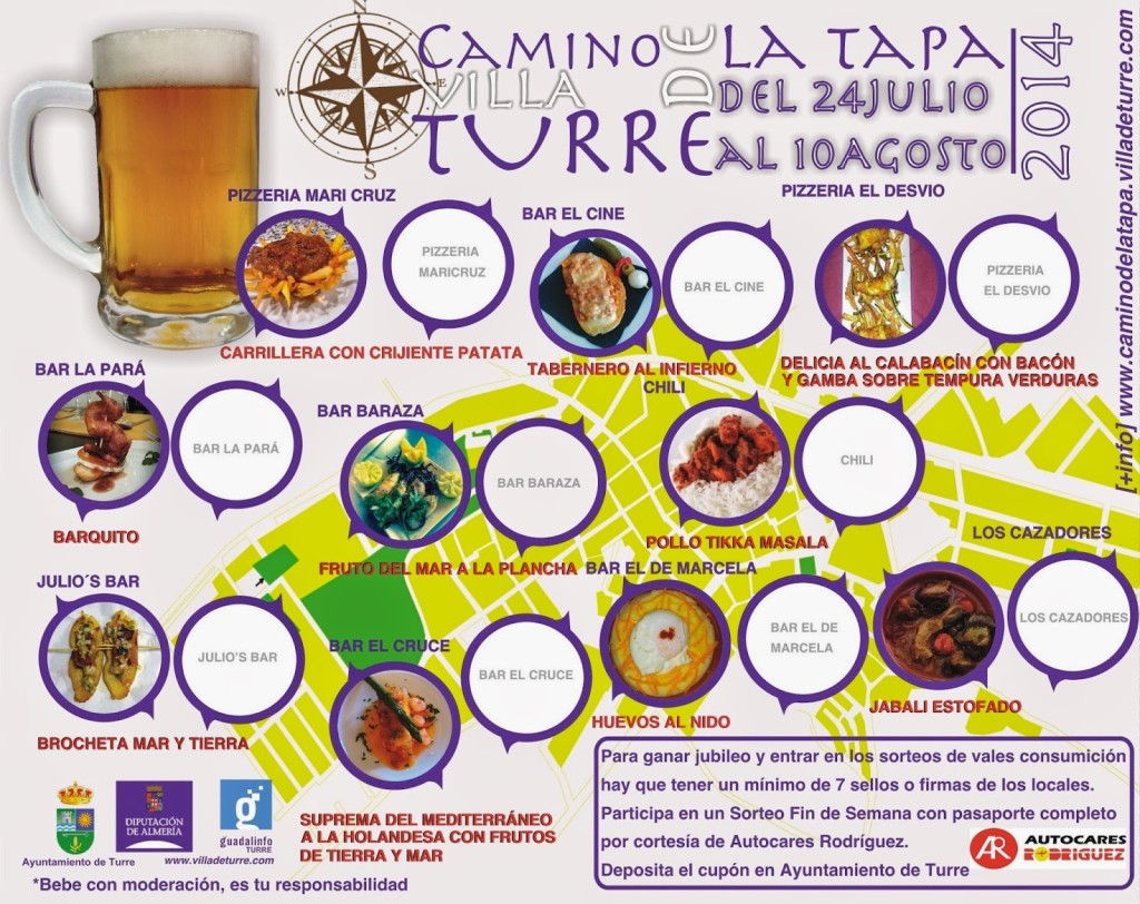 Camino Tapa 2014