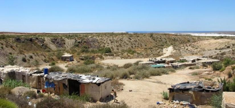One of the many squatter villages (chabolas) across El Ejido, Almeria
