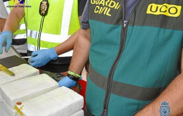 police guardia cocaine lab