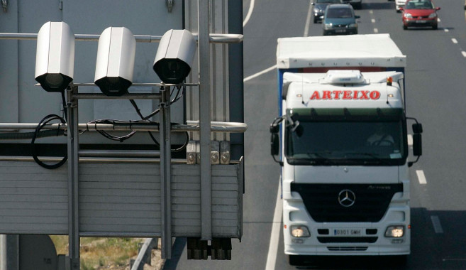 dgt radar trap traffic cam motorway