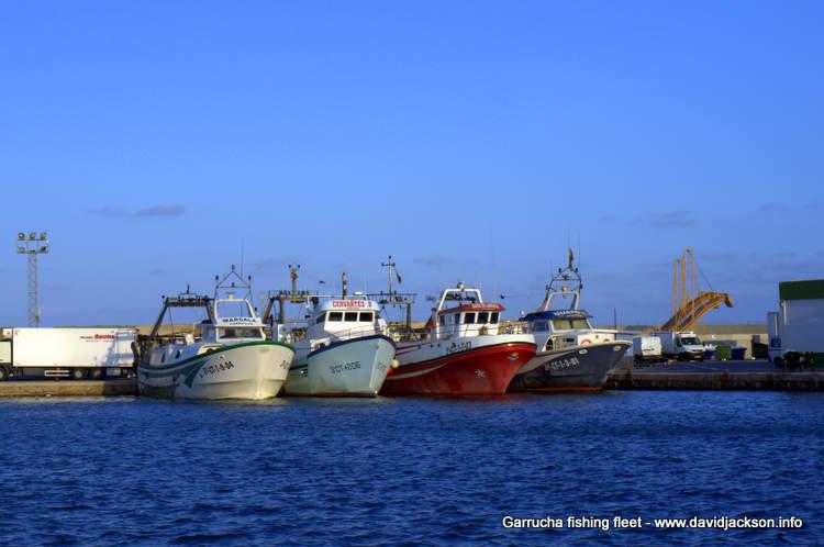 garrucha fishing fleet port