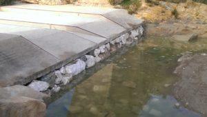 Turre bridge repairs