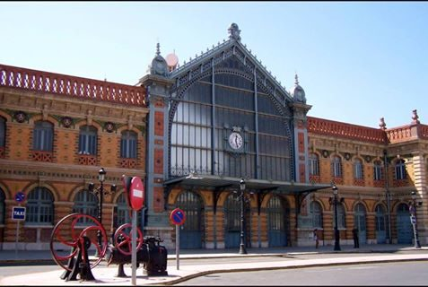 The old RENFE station in Almería city